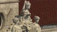 Three Women Above Westmoreland County Courthouse