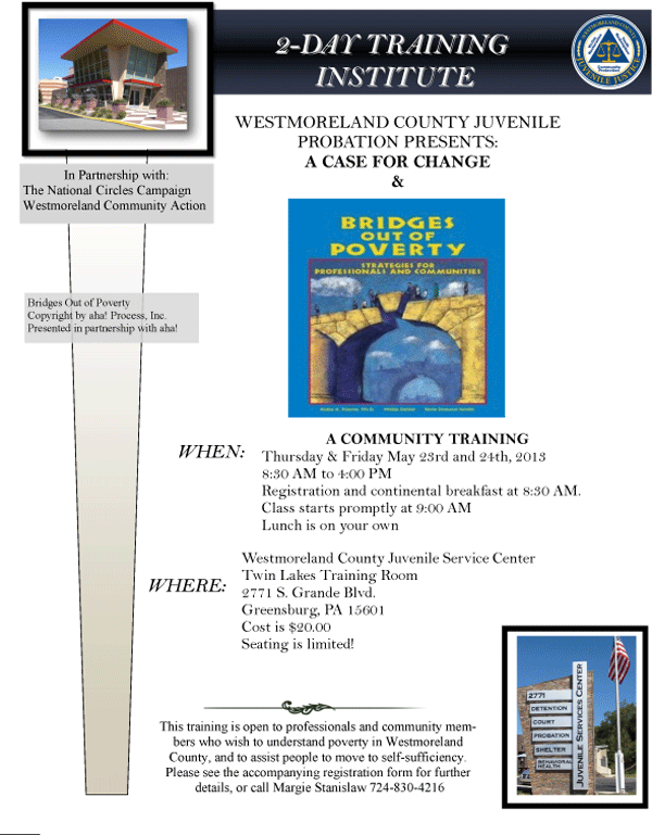 Bridges out of Poverty Flyer