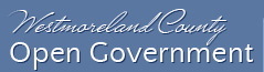 Westmoreland County Open Government