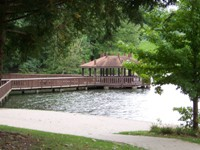 Twin Lakes gazebo