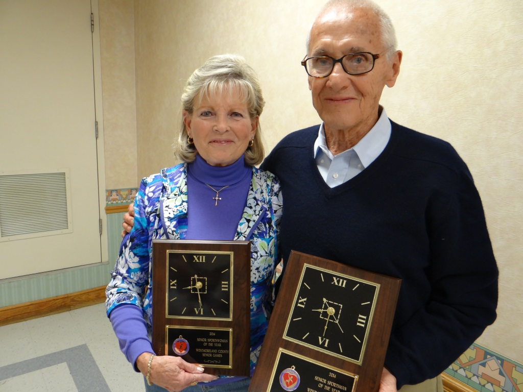 2014 Senior Games awardees