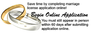 Begin Online Marriage Application