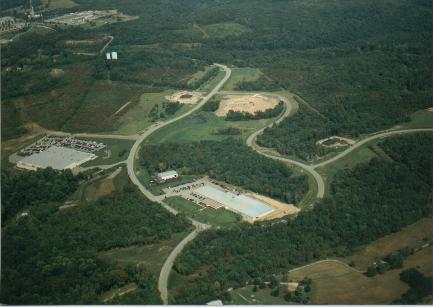 2001 Aerial Business and Research Park