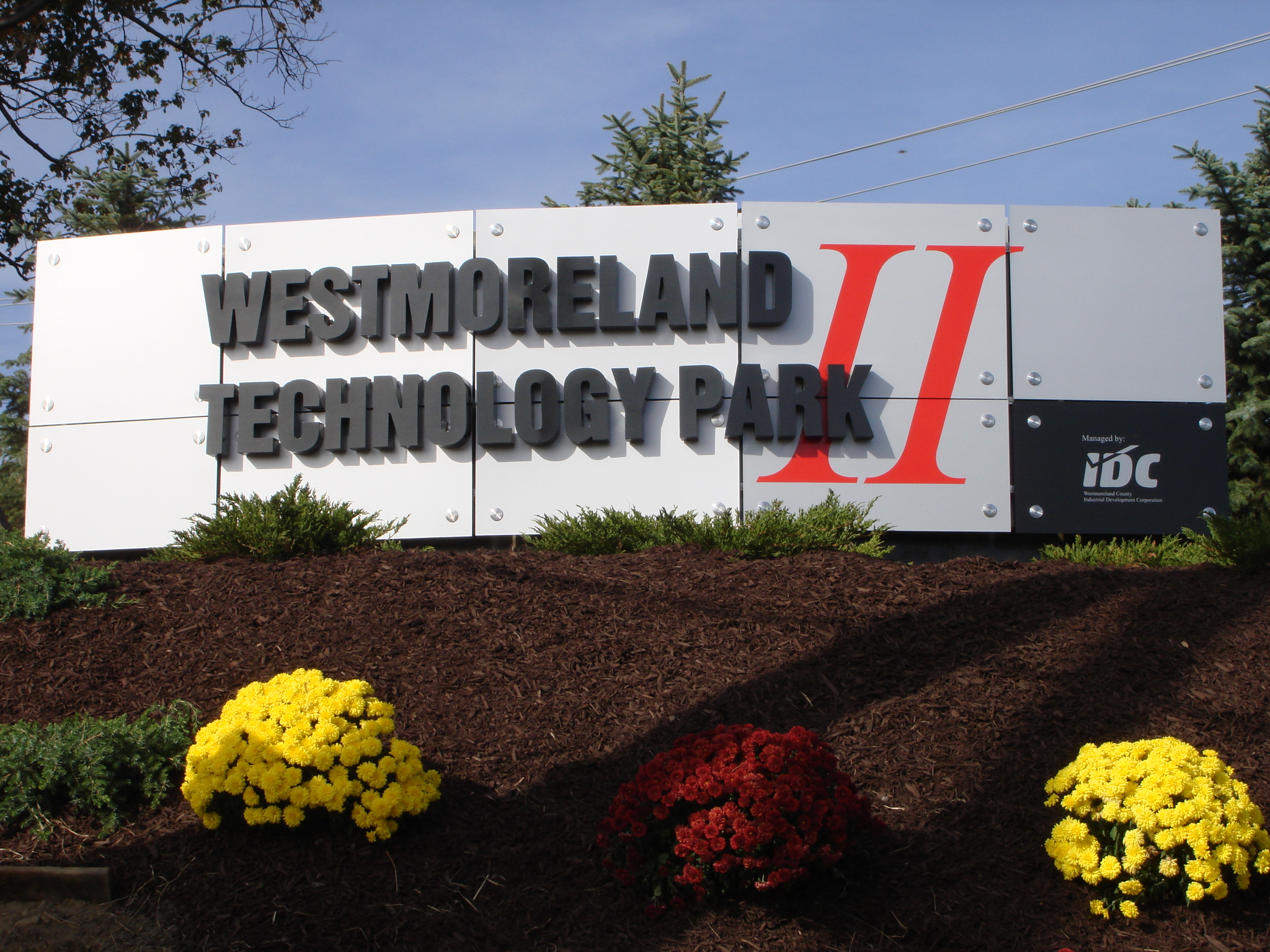 Entrance Sign Technology Park II