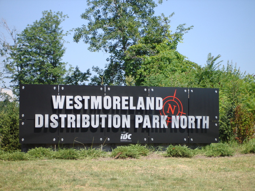 Entrance Sign Distribution Park North