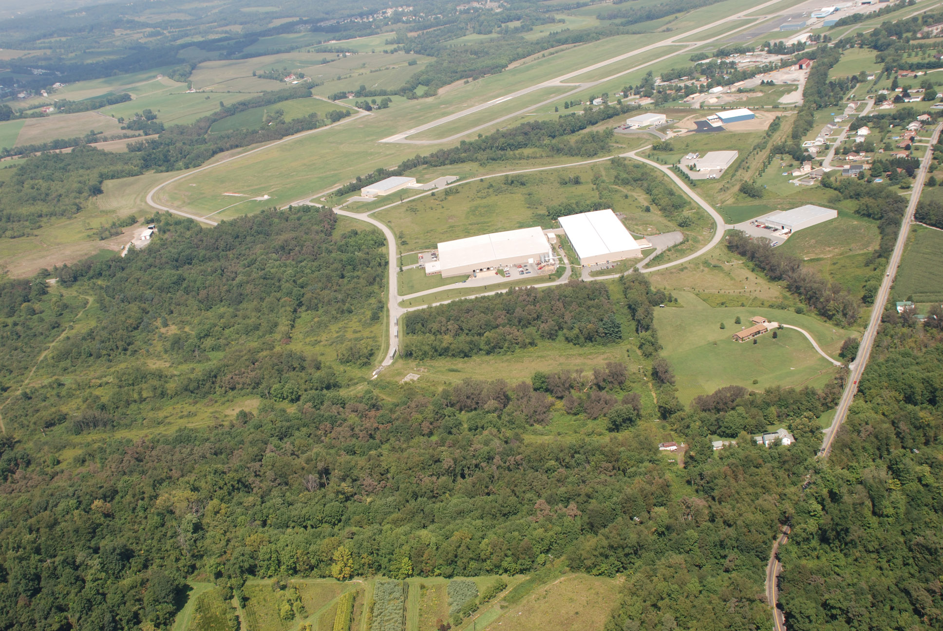 2007 Aerial Westmoreland County Airpark