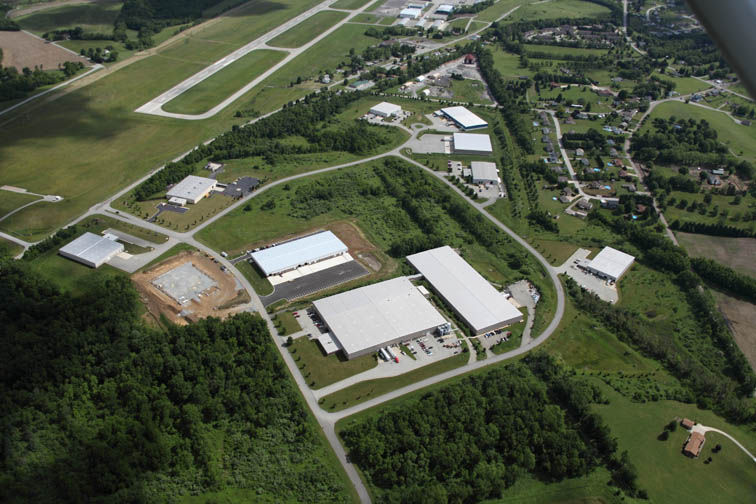 2012 Aerial Westmoreland County Airpark