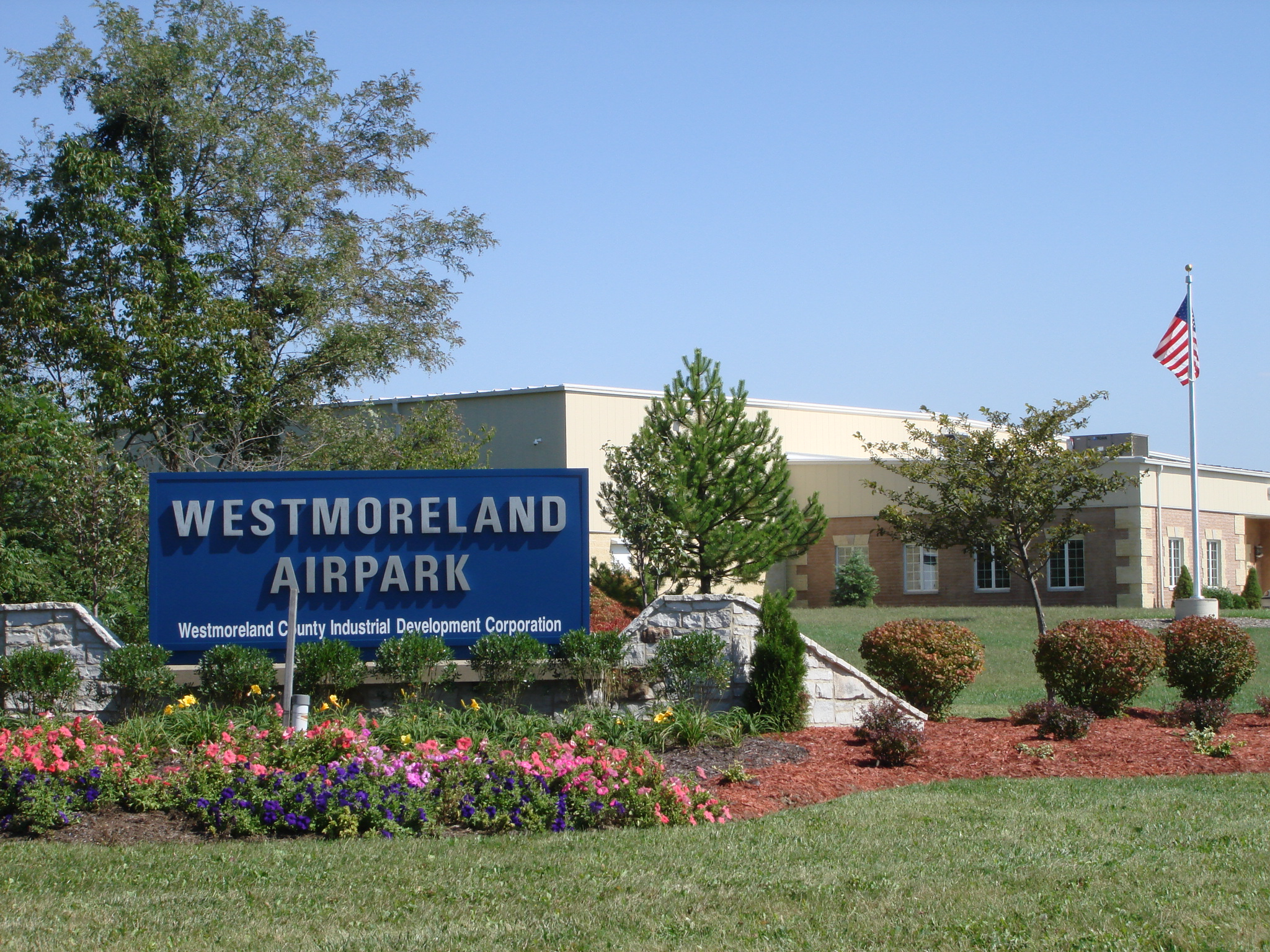 Entrance Sign Westmoreland County Airpark