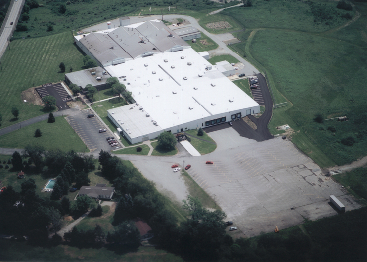 2003 Aerial Mount Pleasant Glass Centre