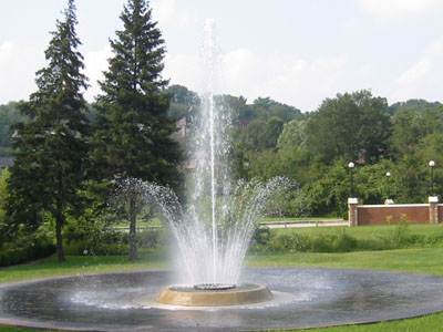 University of Pittsburgh at Greensburg - Fountain
