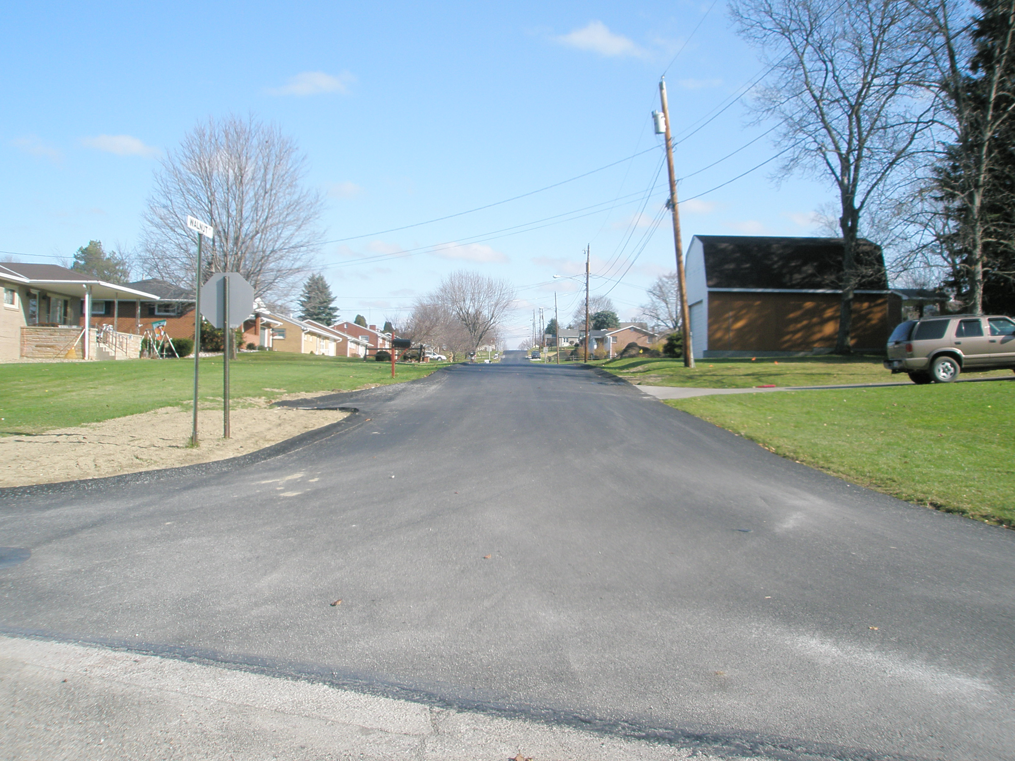 Oklahoma Borough Street Reconstruction, after