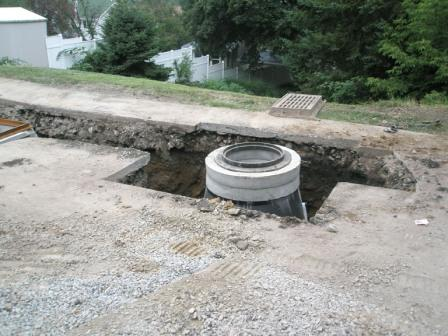 Vandergrift Sanitary Sewer Line Installation, after