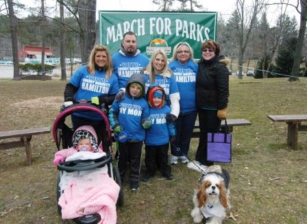 March for Parks team
