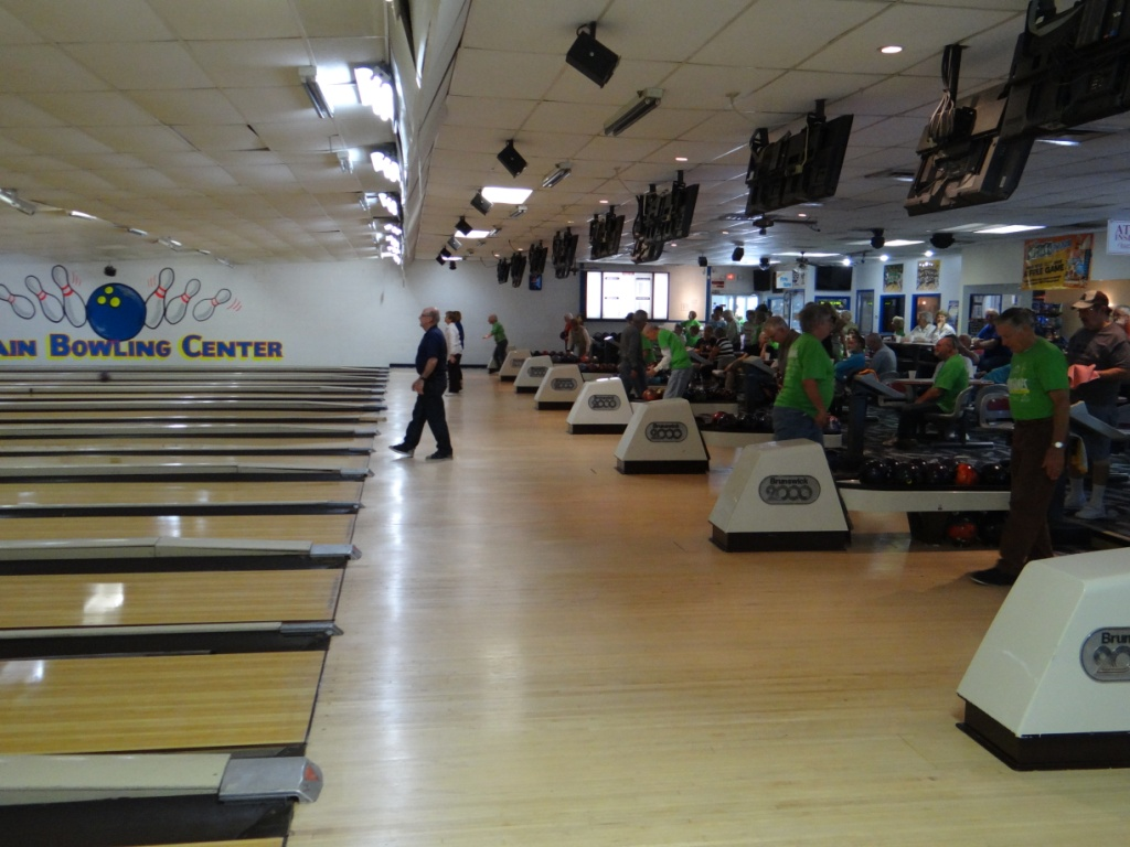 Senior Games bowling