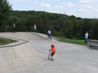Skatepark visitors